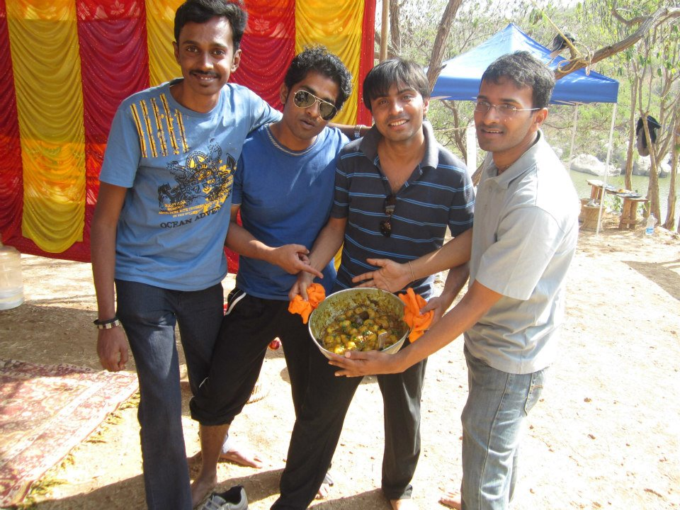 Corporate Team outing-Team NDS, Cooking Competition
