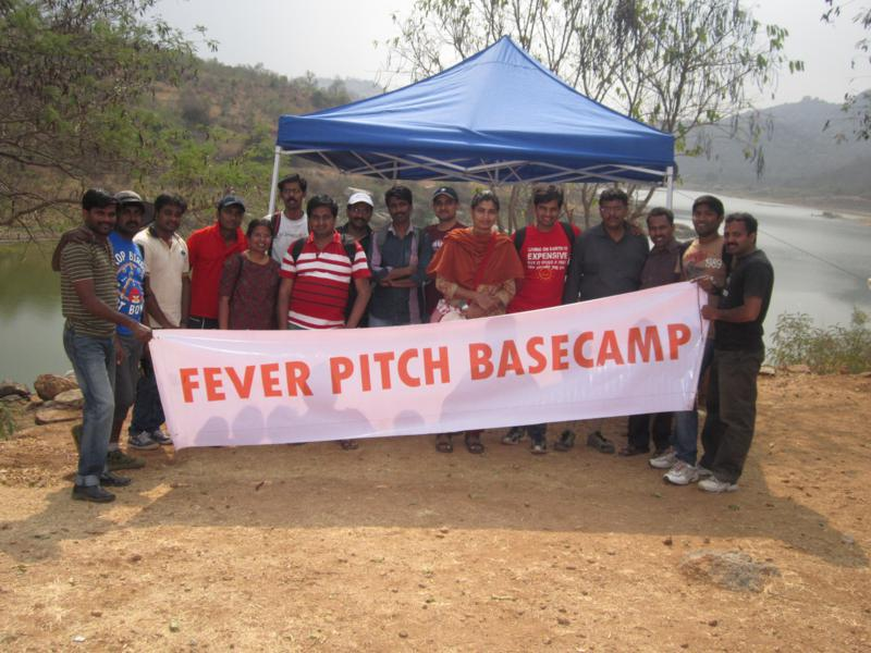 Team Cisco At Fever Pitch Basecamp