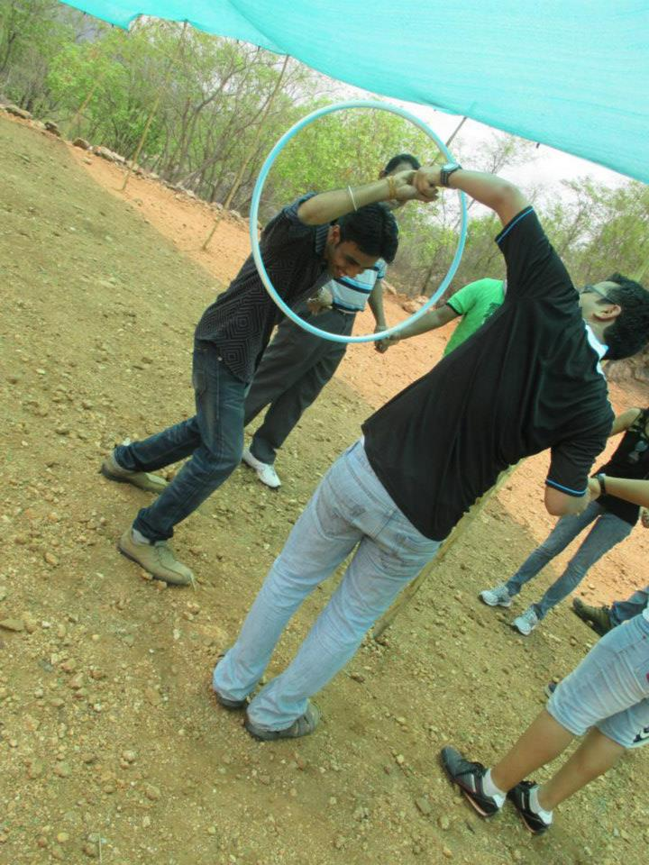 Corporate team outing- team Accenture 2