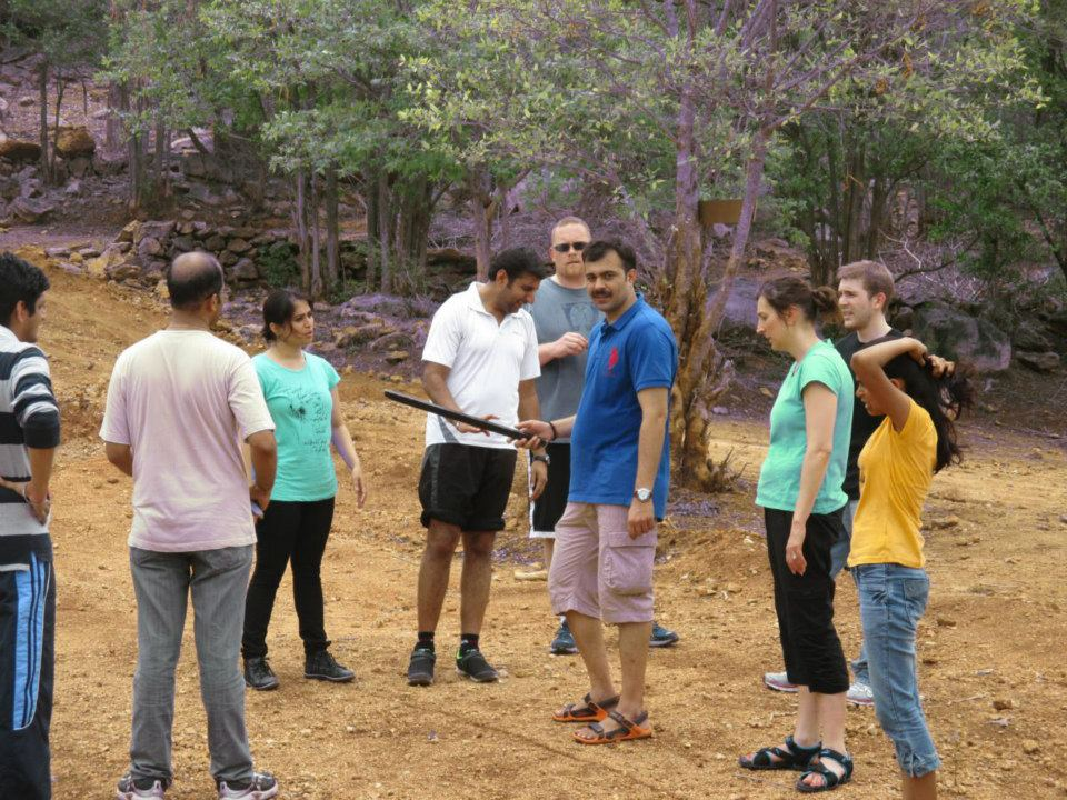 Corporate team outing Bangalore – Team TE Connectivity