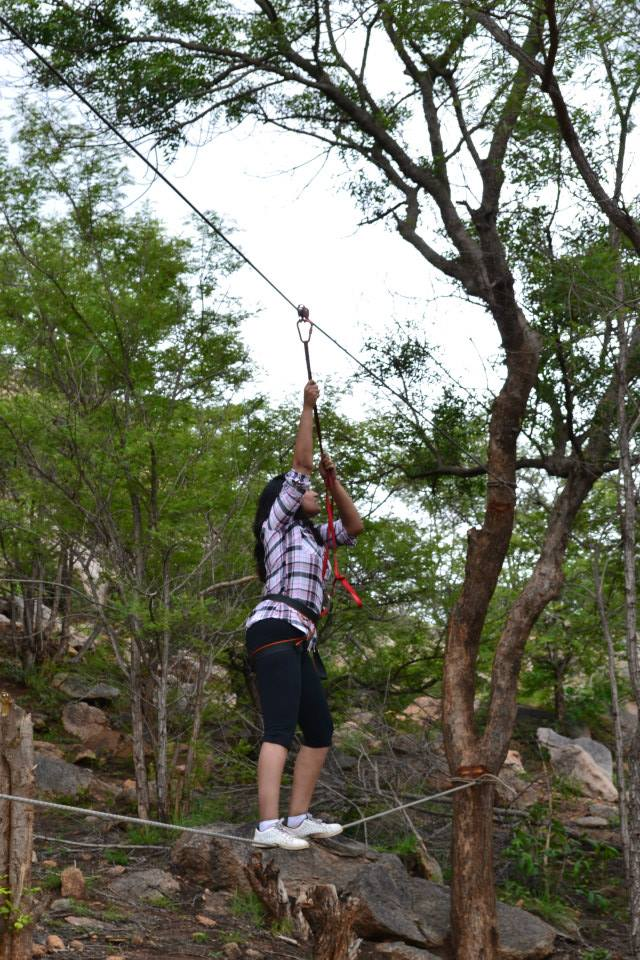 Camping at Fever Pitch basecamp – Nidhi & Friends