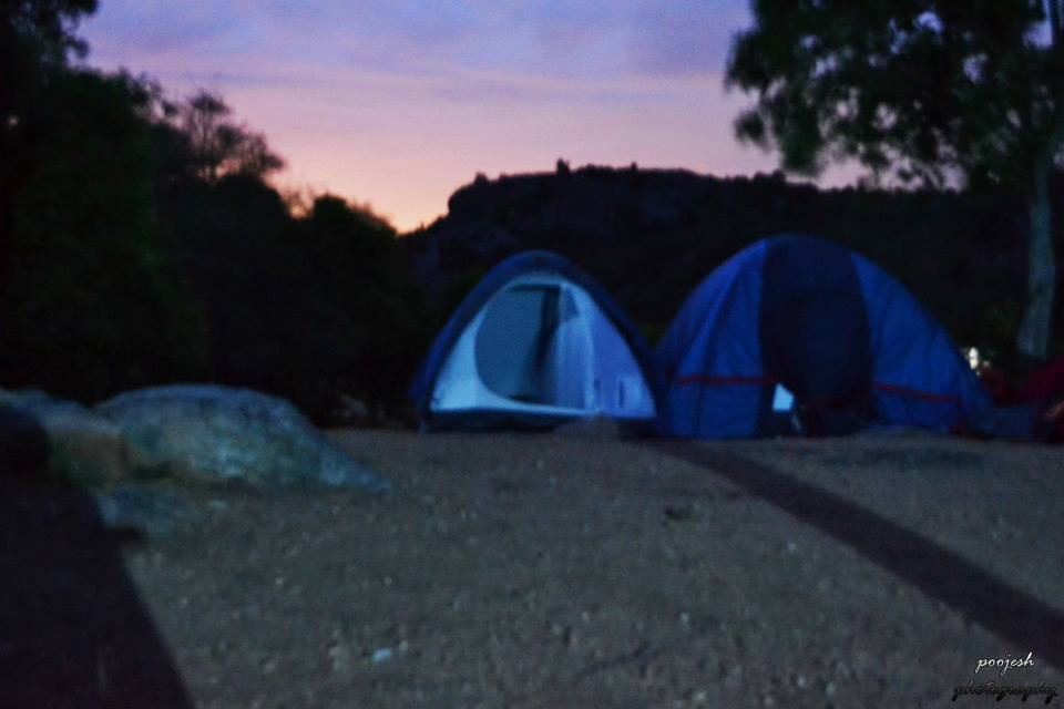 Camping at Fever Pitch Basecamp – Chetan and Friends