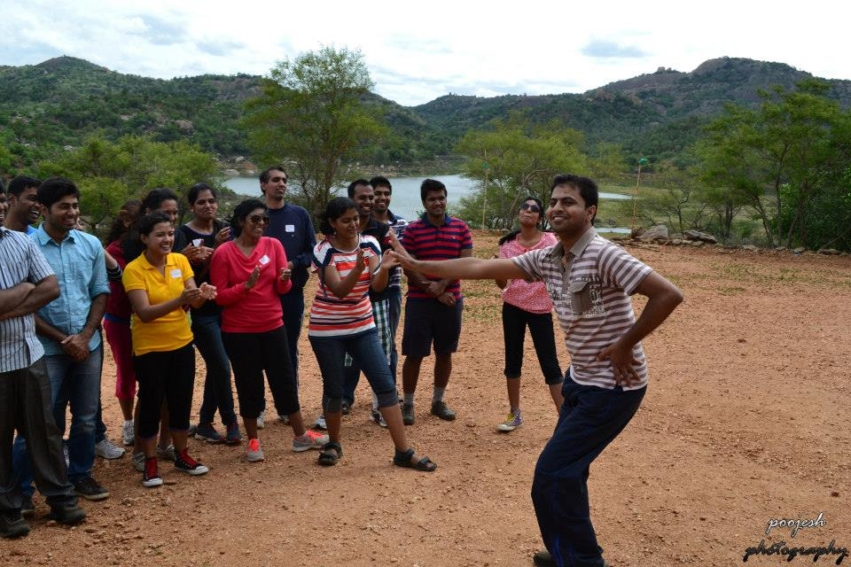 Corporate Team outing Bangalore – HP