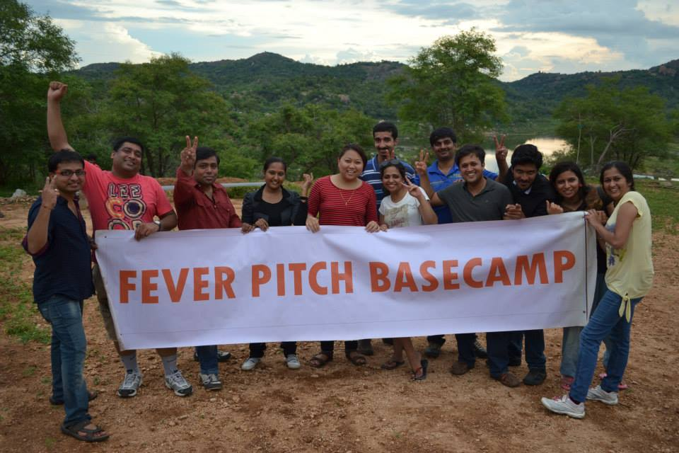 Corporate Team Outing Bangalore – Shonika & Team from Societe Generale