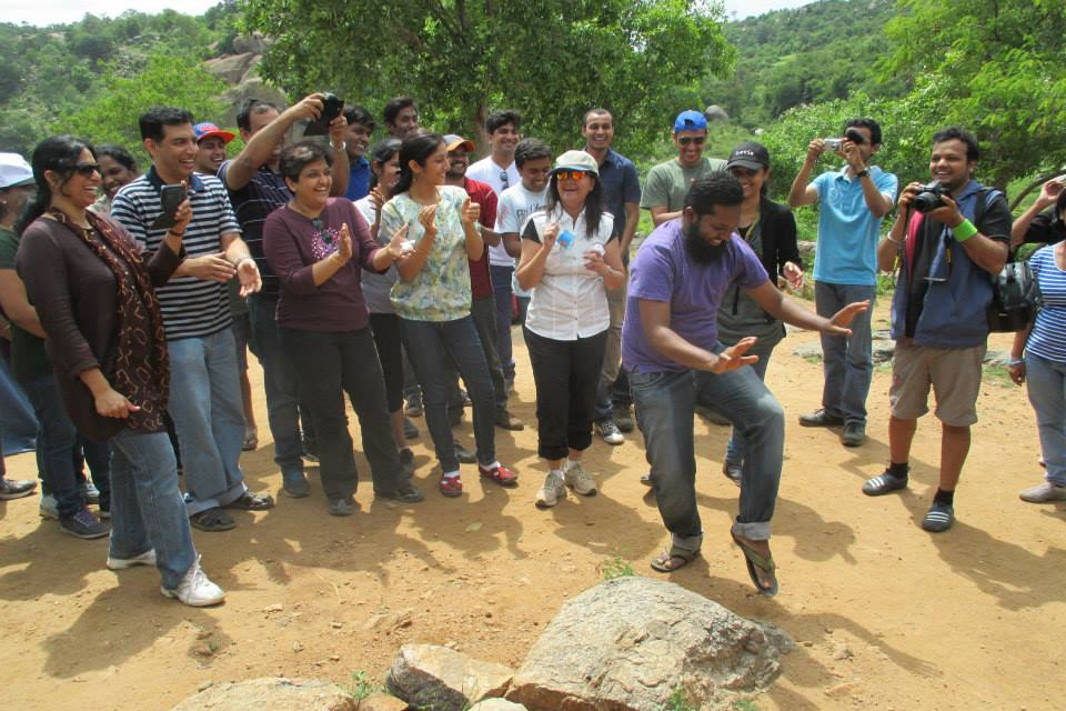 Corporate Team outing Bangalore – Ramya and Team from BOSCH