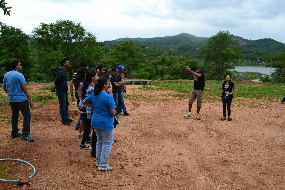 Corporate Team Outing Bangalore – Hema & Team from Microchip