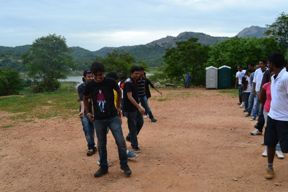 Corporate Team outing Bangalore – Mohan and Team from HCL