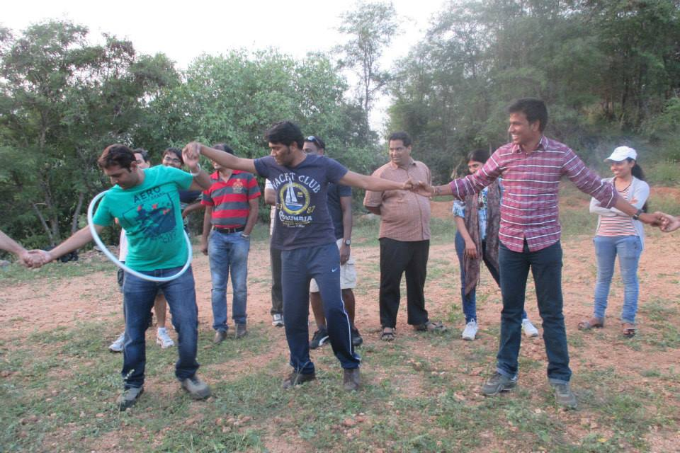 Corporate Team outing Bangalore – Poorvi and Team from Wells Fargo