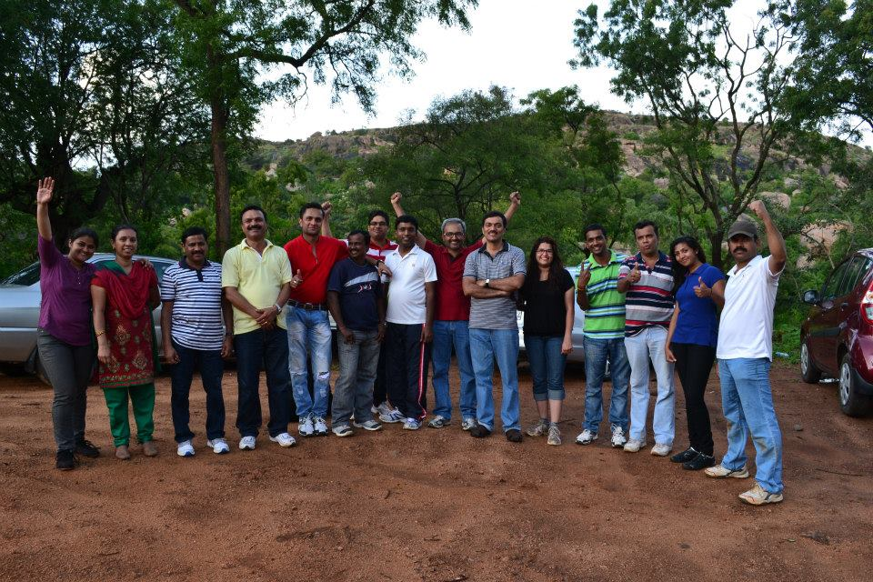 Corporate Team Outing Bangalore – Vivian & Team from Himalaya Healthcare