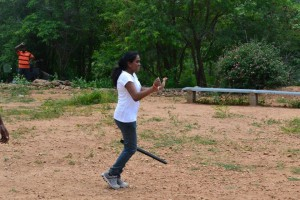 Corporate Team outing Bangalore – Anita and Team from Pole To Win International