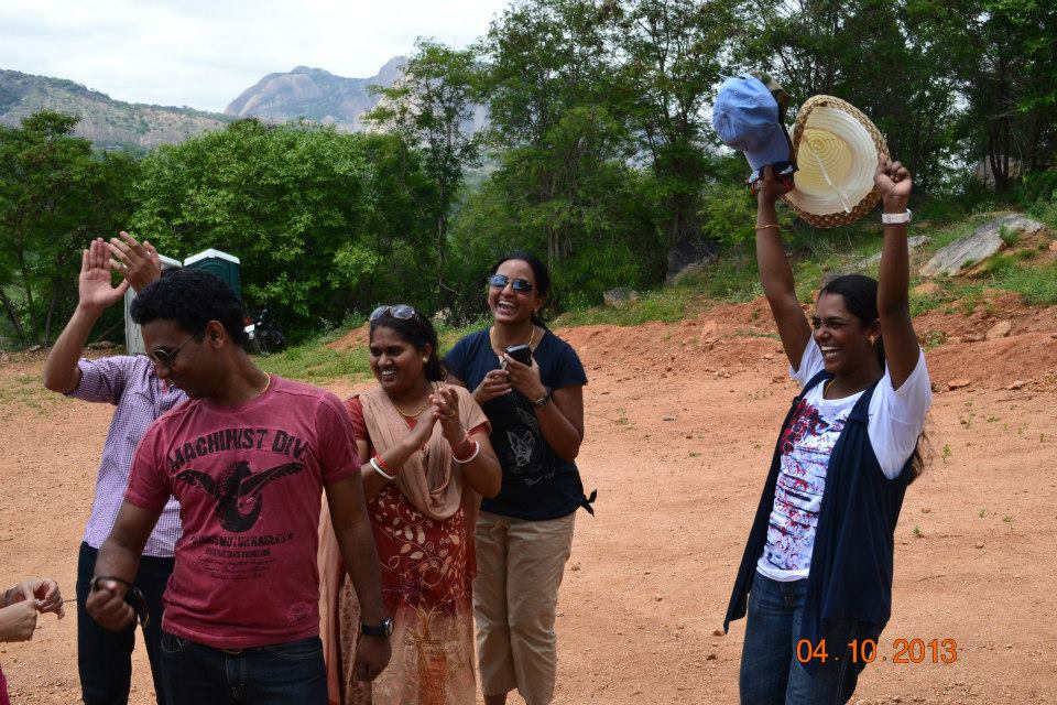 Corporate Team outing Bangalore – Rahul and Team from Cognizant