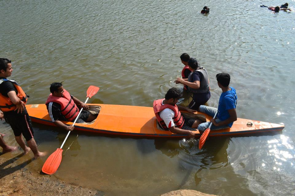 Corporate Team outing Bangalore – Sharmila and Team from Dell